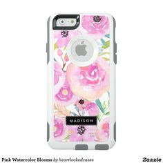 Pink Watercolor Blooms OtterBox iPhone 6/6s Case