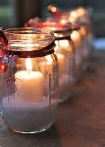 Christmas celebration are around the corner, you must be looking for unique ideas for decoration. Here we bring Christmas décor with mason jars. Mason jars mostly used to store dry items, giveaway … Noel Christmas, All Things Christmas, Winter Christmas, Christmas Candles, Christmas Lights, Simple Christmas, Christmas Ribbon, Beautiful Christmas, Magical Christmas
