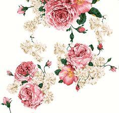 .: hermosas rosas para decoupage o arte europeo