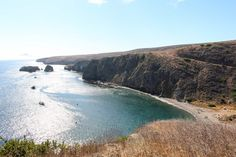 Day Trip to Channel Islands National Park: Santa Cruz Island   Getaway Compass Santa Cruz Island, Channel Islands National Park, The Perfect Getaway, Day Trip, National Parks, Coast, Places, Office Desk, Water