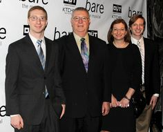 The family of late Rutgers student Tyler Clementi is proud to attend the opening of Bare off-Broadway.(© Miguel Munguia)