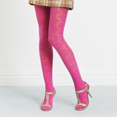 I have lots of tights. But I don't have pink tights. Reason enough????