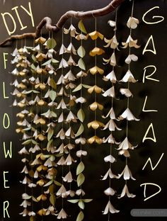 12. Flower Garland | Community Post: 19 DIYs For The Artist In You