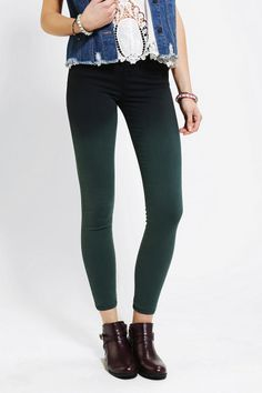 BDG Twig High-Rise Jean- Pine Ombre