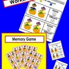 The children look at a set of two pictures and determine if the two are the same or if they are different from one another. Includes:20 Workshee...