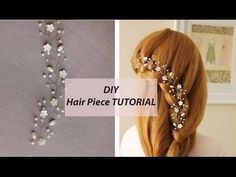 How to Make DIY Bridal Hair Vine Handmade Tutorial [Eng Subs] - YouTube