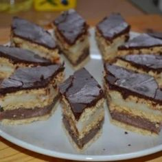 Hungarian Desserts, Home Baking, Cake Cookies, Nutella, Food To Make, Food And Drink, Dessert Recipes, Yummy Food, Sweets