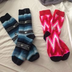 Stance socks - barely ever worn both pairs of socks for $16 seperately $9 each. these have been barely worn and in great condition :) stance Other