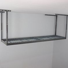 Available In White Or Grey, This Overhead Garage Storage Rack Is The  Perfect Solution For Space Saving Storage. Simply Attach This 2 X 8 Rack To  The Ceiling ...