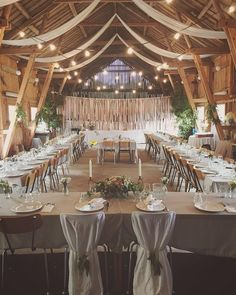 Wondering which wedding reception decoration supplies to buy? There are themed selections of reception decoration supplies in local stores and online retail Chic Wedding, Perfect Wedding, Rustic Wedding, Dream Wedding, Barn Wedding Decorations, Before Wedding, Partys, Ceiling Decor, Rustic Wedding Decorations
