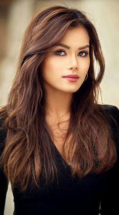 Ⓜ ts ✌ beauty, beautiful women и brunette beauty Most Beautiful Faces, Beautiful Eyes, Gorgeous Women, Gorgeous Girl, Simply Beautiful, Absolutely Gorgeous, Girl Face, Woman Face, Brunette Beauty