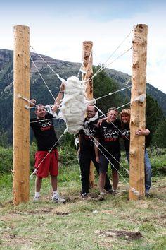 RESPIRART TEAM (Eugenio Del Pero, Marco Nones, Beatrice Calamari, Dario Zorzi) PAMPEAGO GREEN GALLERY (Fiemme Valley - Dolomites Trentino)