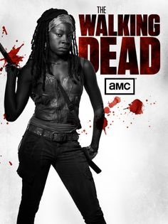 Michonne.....she will slice you with her katana and not think twice about it.