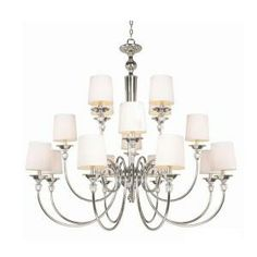 Hampton Bay Locksley Collection 16-Light Chrome Chandelier-20304-027 at The Home Depot
