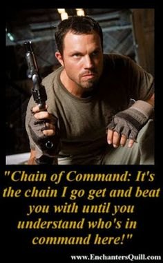 Firefly, Jayne Cobb, Chain of Command