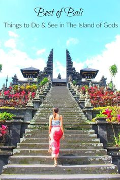 Best of Bali: Things to do in the Island of Gods! Local experiences, tourist attractions, and the best places to stay in Bali. All the top things to do in Bali in a practical travel guide to the Island of Gods in Indonesia. via @Love and Road