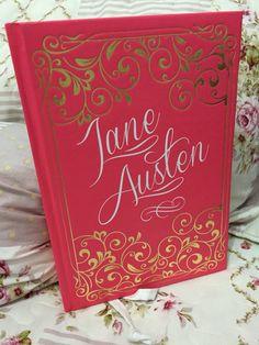 Edição especial #JaneAusten capa dura. Três livros - Razão e Sensibilidade; Orgulho e Preconceito; Persuasão