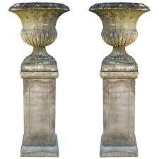 Image result for garden design with urn focal points