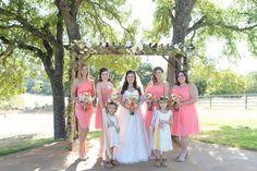 Pink Ranch Wedding - Rustic Wedding Chic