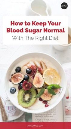 How to Keep Your Blood Sugar With Your Diet - Nutrition Tips #diabeticdiet #bloodsugar