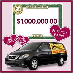 """What a sweet deal (Smiles) ! So what's keeping you? """"Pin"""" And Enter at PCH.com"""