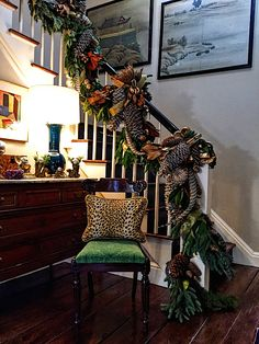 Christmas in Connecticut at designer Lisa Hilderbrand's antique home