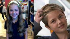 """Si taglia i capelli per donarli ai malati di cancro e viene derisa dai compagni Una ragazzina si taglia i capelli per donarli ai malati di cancro, ma a scuola viene derisa e chiamata """"maschiaccio"""". Così la mamma decide di affrontare i bulli...  http://infostudenti.scuolazoo.com/infostudenti/jetta-fosberg-taglia-capelli-malati-cancro-derisa-bullismo"""