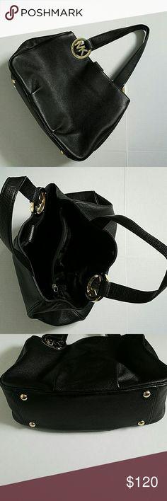 Women's bag Black leather Michael Kors tote bag Michael Kors Bags Totes