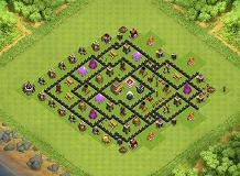 ufgu th 8 clash of clans base layout clash of clans base pinterest layouts