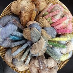 Reywa yarns from Tibet , yak and silk