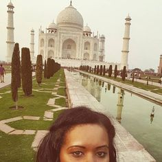 #mytajmemory The breathtaking Taj Mahal and I. #breathtaking #tajselfie #iloveindia #selfie by ntybnd #IncredibleIndia #tajmahal