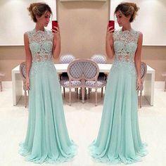 Isabella Narchi / vestido longo, vestido de festa, madrinha, azul água, tiffany