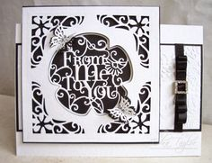 Blog tonic: From Me to You - a card from Edna
