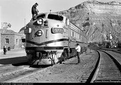 RailPictures.Net Photo: DRGW 5771 Denver & Rio Grande Western Railroad EMD F9(A) at Helper, Utah by James Belmont