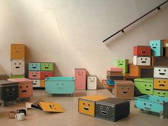 Smiling furniture abounds for #nesthappyhomes http://www.nest.com/2012/07/10/nest-happy-homes-video/#happyhomes