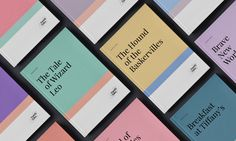 Family Tales — Identity & Book Design on Behance