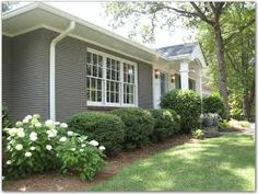 Image result for facelist for 1950s florida ranch style home with bricks