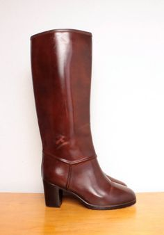 $26 rubber, rainboots WITH A HEEL!!