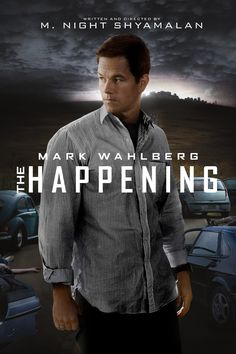 The Happening Movie Poster - Mark Wahlberg, Zooey Deschanel, John Leguizamo  #TheHappening, #MarkWahlberg, #ZooeyDeschanel, #JohnLeguizamo, #MNightShyamalan, #Thriller, #Art, #Film, #Movie, #Poster