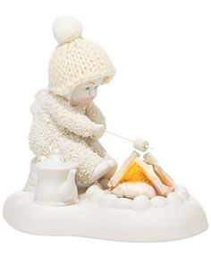Department 56 Snowbabies Extra Toasty Collectible Figurine