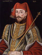 16th-century painting of Henry IV, aka Henry of Bolingbroke.