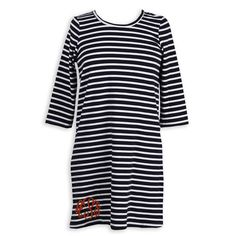 Swoon! Love this Ladies Navy Stripe Cotton Dress I discovered at lollywollydoodle.com and for only $34! Click the image above to get a $5 off coupon code for your next order!