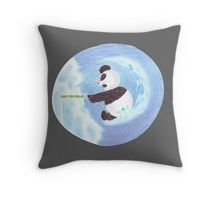 'Panda fishing from the moon' by To Collect, Lucky Day, Your Favorite, Panda, Wildlife, Throw Pillows, Fish, Guys, Animals