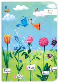 Notebook - 'Fairy Garden'