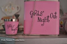 Girls Night Out!!   ALL THINGS PINK