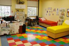 School Nurse Office - I only wish my office was this big