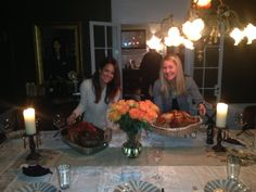 """Brooke Burke shares a holiday picture - """"Turkey cookoff!"""" #Thanksgiving #BrookeBurke #family #holidays #love #turkey"""