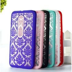 For Moto G3 Case Fashion Printed Hollow Out Flower Styles Cover Cases For Motorola Moto G 3 3rd Gen Case Mobile Phone Flower