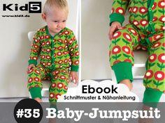 ★ ebook Baby-Jumpsuit / Einteiler  8 Größen!! von Kid5  auf DaWanda.com