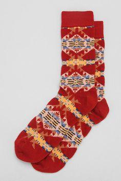 Pendleton Jacquard Socks #urbanoutfitters